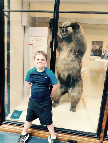 Rohan FINALLY saw a bear!!!